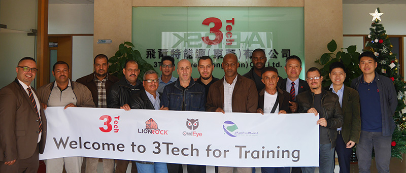 Algeria Telecom Training in 3Tech,Training,NEWS,3TECH